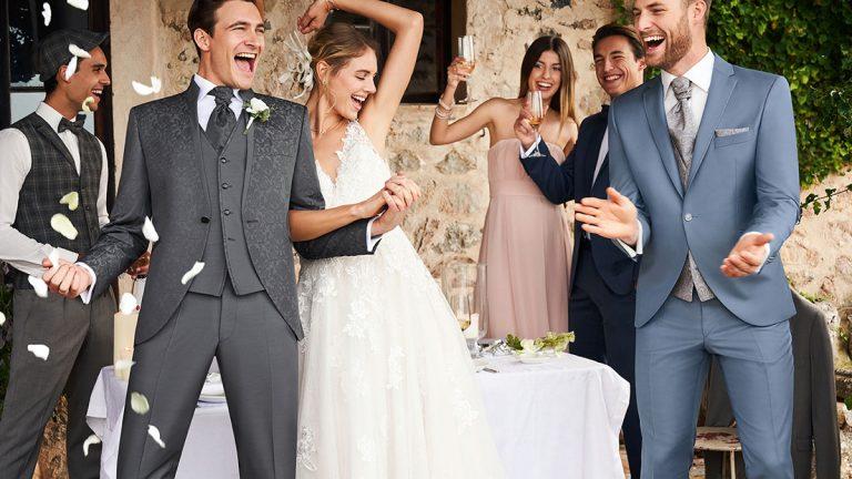 A vőlegény ruhájának kiválasztása